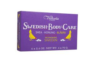 Swedish Body Care - Blueberry 4-pack (4x70g)