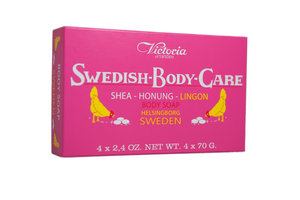Swedish Body Care - Lingon 4-pack (4x70g)