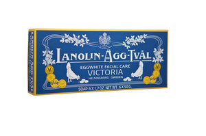 Lanolin-Äggtvål US 14x6-pack (6x50g)