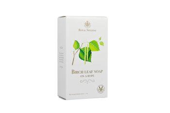 Royal Swedish - Birch Leaf Soap På Snöre 200g