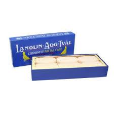 Lanolin Eggwhite Facial Soap 14x6-pack (6x50g)