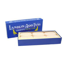 Lanolin Eggwhite Facial Soap 6-pack (6x50g)
